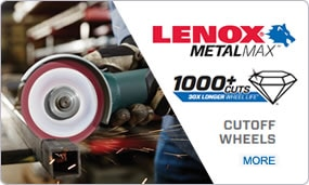 LENOX MetalMax Cutoff Wheels